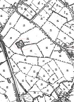 1885 Ordnance Survey Map