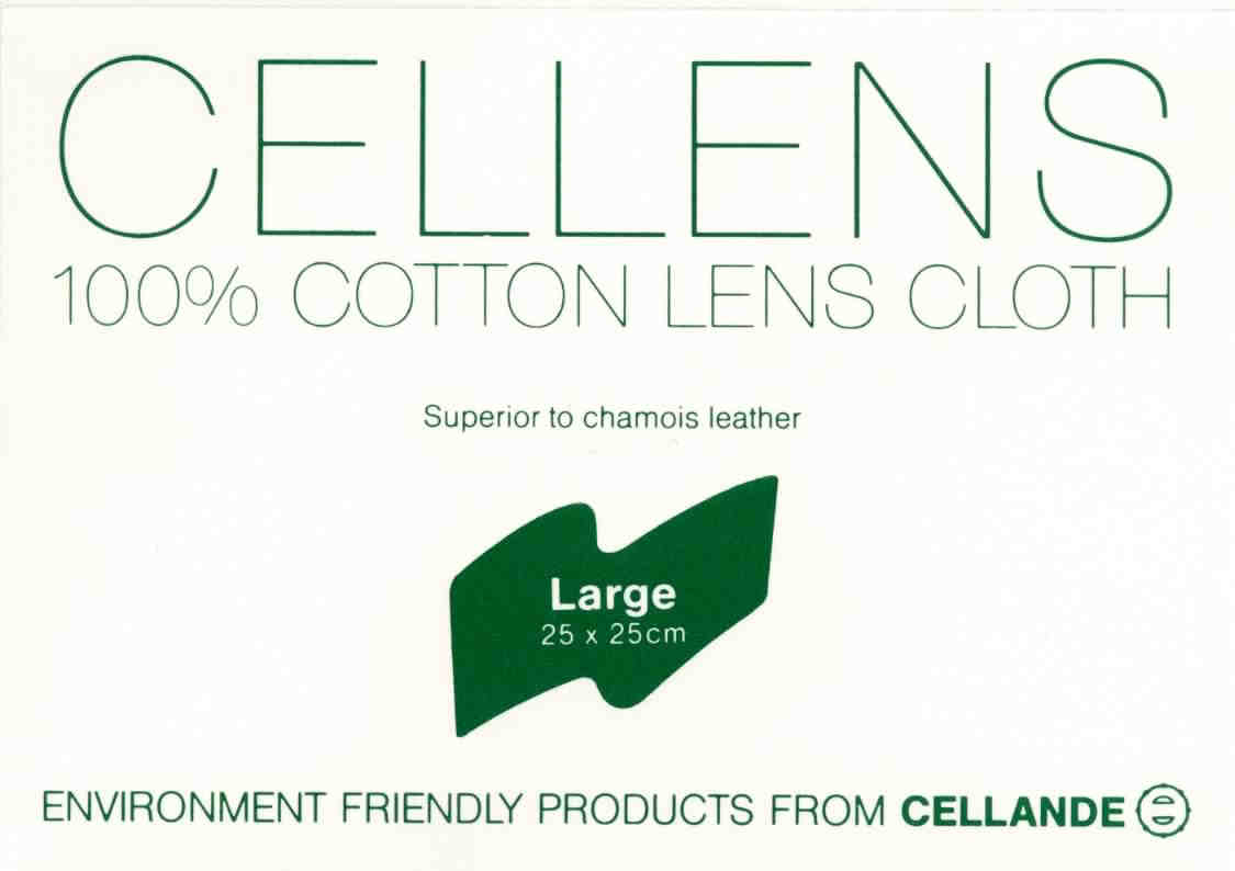 cotton lens cleaning cloth